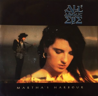 "All About Eve - Martha's Harbour (7"") (EX-/VG+)"
